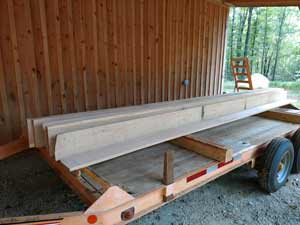Trailer decking cut to order..